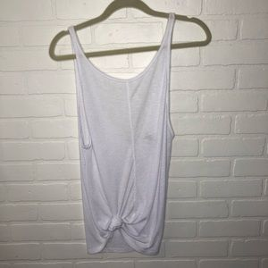 Free People Low Back V tank